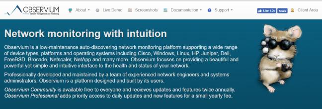 How to Install Observium on CentOS 7 – Nerd Blogging – Tech