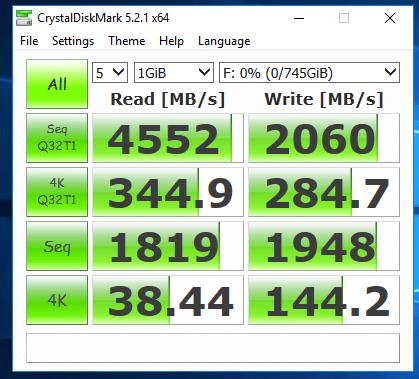 Software Raid in Windows and NVMe U 2 Drive Benchmark – Nerd